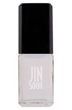 JINsoon Power Coat http://beautyeditor.ca/2014/02/10/heart-manicure-tutorial/
