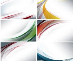 Light Abstract Backgrounds Vectors