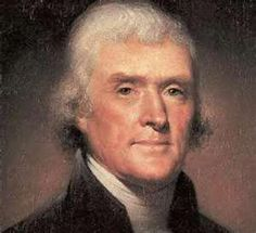 """Thomas Jefferson (1743 - 1826) was the third President of the United States who authored the most important words in American History: """"All men are created equal.""""  He also said that the government was the servant, not the master, of the people."""