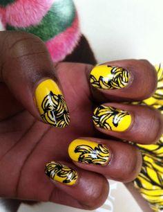 Josephine Baker even inspires nail art!