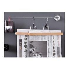 BUMERANG Broekhanger, naturel - IKEA