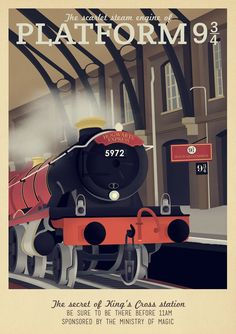 30 Amazing Travel Posters for Game of Thrones, Harry Potter, Star Wars - The Checkout presented by Ben\\\'s Bargains