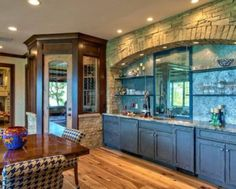 rustic kitchen cabinets for log homes
