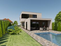 keri látvány Minimalism, Mansions, House Styles, Home Decor, Decoration Home, Room Decor, Villas, Interior Design, Home Interiors