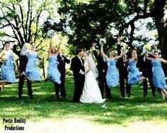 fun wedding party photos - Google Search
