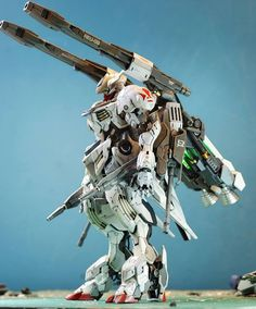 HG 1/144 Barbatos Lupus + Galaxy Canon - Custom Build Modeled by Asrul Hazimin