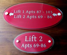 Interior directory lobby wall signs lift to apartment signs http://www.de-signage.com/Officesigns.php