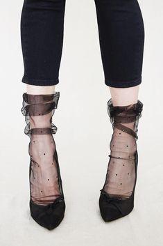Image result for adult tulle socks
