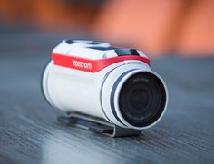 Introducing the TomTom Bandit Action Camera, the first camera equipped with a built in media server.