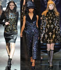 Pierres précieuses / Germstones by Lanvin, Louis Vuitton and Versace