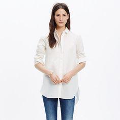 Madewell+-+Linen+Clean+Placket+Shirt