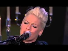 """P!NK - I Don't Believe You (Live) """"So don't stand there and watch me fall"""""""