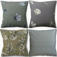Cushion covers made with cotton top quality fabric depicting Butterflies & Moths in either green or Mauve. Cushion covers have a cream envelope back. Cushion Covers, Pillow Covers, Animal Cushions, Cottage Crafts, Velvet Cushions, Cotton Pillow, Mauve, Moth, Butterfly