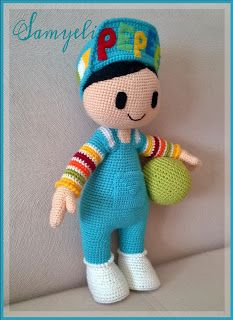 İlk Pepee'yi amigurumiye yeni başladığım zamanlarda Yaseminkale'nin… When I first started amigurumi, I knitted the first Pepee with the recipe of Yaseminkale. Crochet Doll Pattern, Crochet Patterns Amigurumi, Baby Knitting Patterns, Crochet Dolls, Crochet Fairy, Crochet Disney, Holiday Crochet, Pretty Dolls, Amigurumi Toys