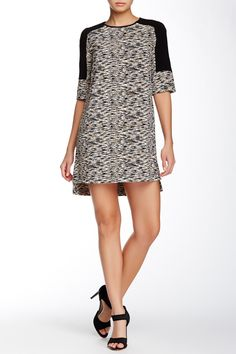 French Connection | Sahara Wave Textured Dress