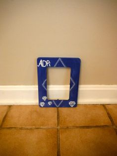 Alpha Delta Pi Frame by GreekGoods4U on Etsy, $12.00