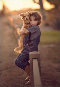 ♡ a girl and her dog.. best friends for life
