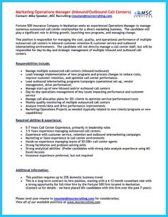 Call Center Resume Template How Build Basic Resumes Resume Format Objective Examples Business
