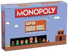 Amazon.com: Monopoly: Super Mario Bros Collector's Edition Board Game: Toys & Games