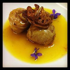 Para o dia dos Namorados 2012, a versão canard l´orange do Hashi Art Cuisine.