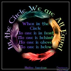 Native American Circle -- so many parallels with Wicca. Native American Prayers, Native American Spirituality, Native American Wisdom, Native American History, American Indians, Cherokee History, American Indian Quotes, American Women, American Pride