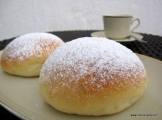 Biscuit Bread, Pan Bread, Food N, Food And Drink, Best Bread Recipe, Bread Recipes, Donuts, Pan Dulce, Crazy Cakes