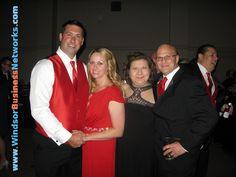 L - R.  Chad Goulet, Della Jones-Goulet,  Stella Roberto Ciancio , Steve Meehan.  Photo bombed by Darin Reybroek and Jack Rosenberg