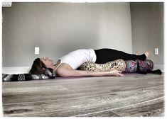 Our customer, Katie Overcash, demonstrating a restorative bridge pose with Inner Space Oval Bolsters. Restorative Yoga Sequence, Yoga Nidra, Yoga Bolster, Bridge Pose, Yoga Props, Relaxing Yoga, Types Of Yoga, Iyengar Yoga, Yoga Benefits