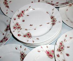 Antique English Transferware Plates Royal by LionheartGalleries, $39.95