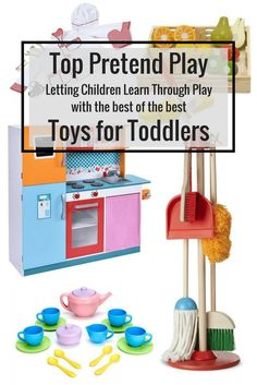 My wish list for my toddler! We love these dreamy toddler picks. Come see what has sprung my toddler into pretend play madness! SAHM / stay at home mom / toddler toys / gift guide / pretend play / melissa and doug / best play kitchen / best toddler toys / Best Toddler Toys, Toddler Play, Toddler Gifts, Toddler Activities, Toddler Stuff, Girl Toddler, Kid Stuff, Learning Through Play, Kids Learning