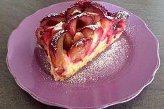 Marzipan-Pflaumenkuchen