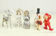 Vintage 1950s Christmas ornaments