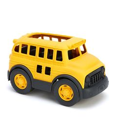 Take a look at this Recycled School Bus by Green Toys on #zulily today!