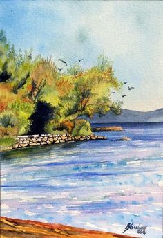 Another fantastic #watercolour from twitter user @strippoli42