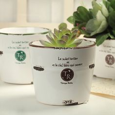 Imitation enamel retro ornaments ceramic flower drum