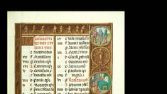 The Medieval Calendar- from the Getty Museum, ;an illuminated calendar. No restrictions.