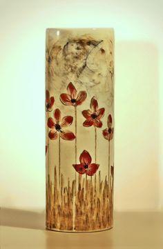 Arte para el recuerdo: Urna Eos de la colección Neexuslife en artmemori.com. Urna artística para cenizas realizada en gres, cocción a alta temperatura aplicando esmaltes  y cenizas naturales. Torneadas  y decoradas a mano. http://www.artmemori.com/producto/urna-eos/