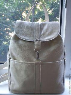 Рюкзаки ручной работы. Ярмарка Мастеров - ручная работа. Купить Кожаный рюкзак. Акция.. Handmade. Кожаный рюкзак, натуральная кожа
