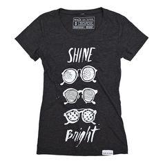 Shine Bright Charcoal Women's T-Shirt