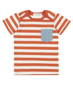 Sense Organics & friends in cooperation with GARY MASH – Baby T-Shirt orange geringelt Baby T Shirts, Must Have Gadgets, Diy Baby Gifts, Baby Must Haves, Baby Socks, Baby Milestones, Baby Love, Baby Knitting, Organic Cotton