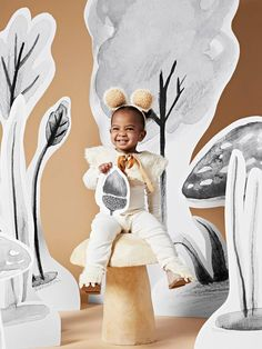 Make This Adorable Bear Halloween Costume in Just Three Easy Steps