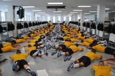 If you're looking for tips to get into shape before heading to Boot Camp, this link has them. #Navy #USNavy #AmericasNavy navy.com