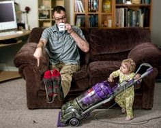 Dave Engledow's Awesome Father Daughter Portraits#