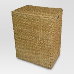 Laundry Bag Target Birdrock Home Rattan Peel Laundry Hamper With Lid  Removable Canvas
