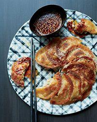 Pork-Kimchi Dumpling Pancakes