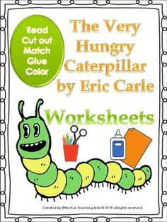The very hungry caterpillar Worksheets by Effective Teaching Aids 2nd Grade Classroom, Primary Classroom, Elementary Teacher, Teacher Pay Teachers, Classroom Ideas, Teaching Language Arts, Teaching Aids, Story Sequencing, Effective Teaching