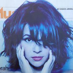 Nora Jones cute hair