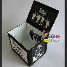 Fabi Juanna - Caixa para CDs The Beatles 02