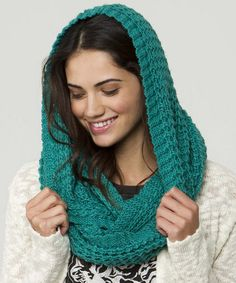 Take a look at this Teal Blizzard Infinity Scarf by O'Neill on #zulily today!