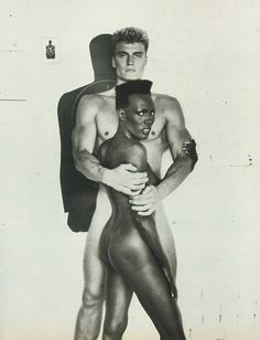 Dolph Lundgren and Grace Jones.